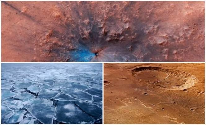 NASA зафиксировало следы кровавой битвы на Марсе