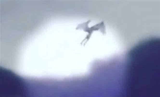 В Дагестане на видео сняли пришельца