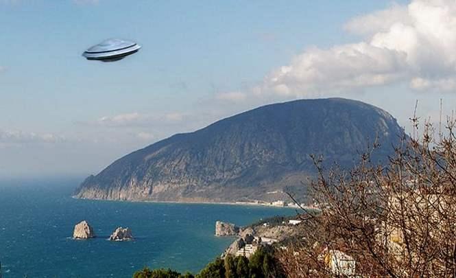 Под горой Аю-Даг В Крыму находится инопланетная база
