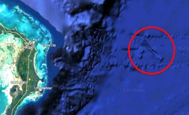 В районе Багамских островов найден корабль пришельцев