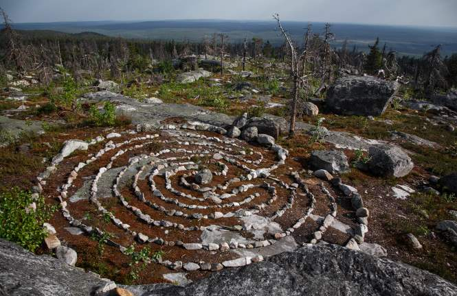 Необычное место в Карелии — гора Воттоваара.