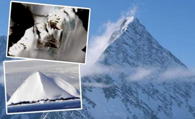Инопланетяне приземлились в Антарктиде