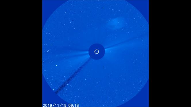 Нечто, очень похожее на Нибиру сфотографировал телескоп SOHO