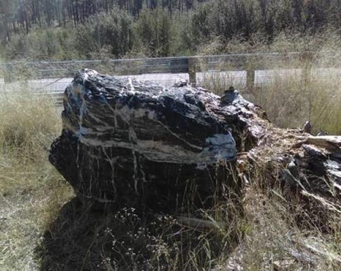 В Аризоне уплыл в другое измерение камень весом в несколько тонн.