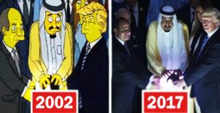 Создатели Симпсонов путешественники во времени?
