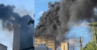 Странный пожар госпиталя в Нью-Йорке в канун 11-го сентября.