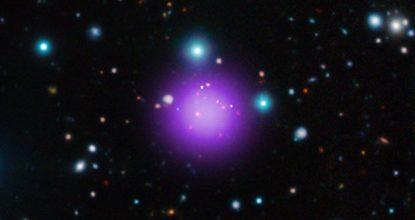 NASA обнаружили самое далекое известное скопление галактик