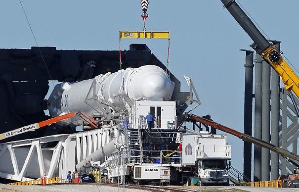 запуск spacex falcon heavy 06 02 2018